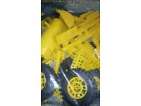 lego technic 8862 backhoe grader