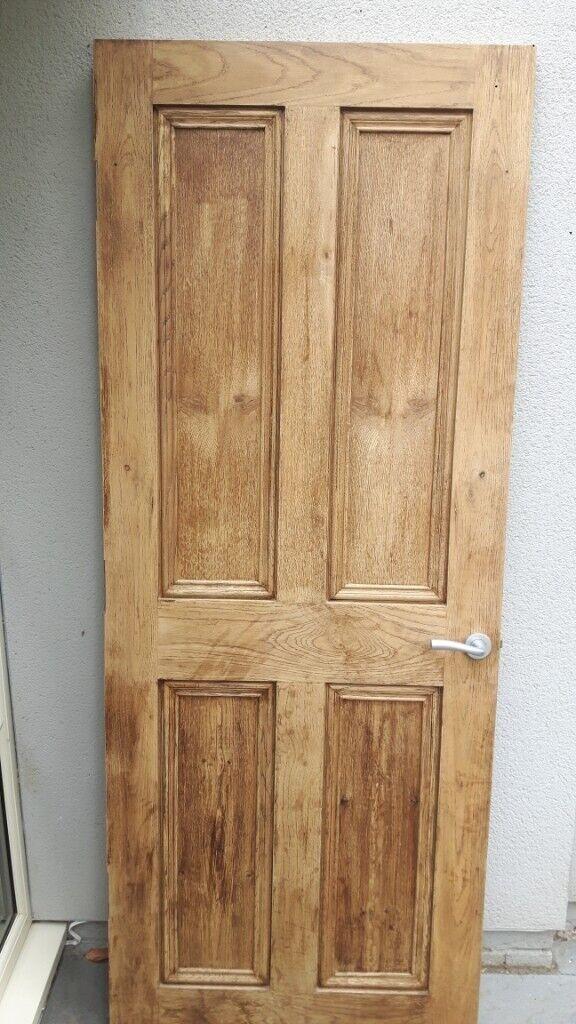 Free oak internal door