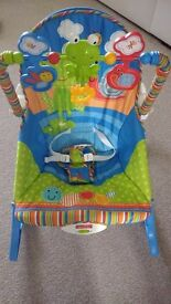 Fisher price vibrating bouncer/rocker