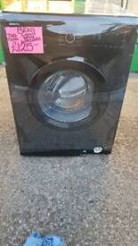 BEKO BLACK 7KG LOAD 1200SPIN WASHING MACHINE