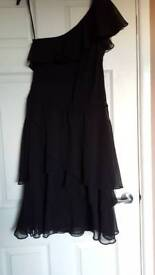 Black size 14 off the shoulder dress