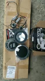 Flix car speakers