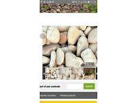 *FREE*cotswold cobbles/ garden pebbles/ stones