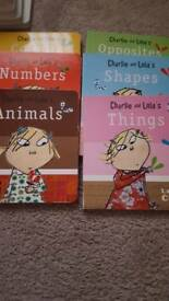 Charlie and Lola's hard back books