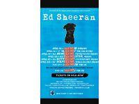 Ed sheeran tickets O2 3/5/17