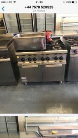 Commercial cooker catering resturant hotels pubs cafe hob gas