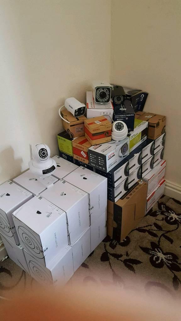 Job Lot of Brand New CCTV Cameras