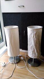 IKEA - Skyar table lights