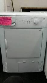 Beco white 6.kg load condenser tumble dryer