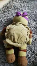 Donatelo build a bear TMNT