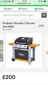 Brand New Outback 3 Burner BBQ £120 or VNO