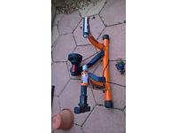 Cycle bike trainer elite turbo variable resistance