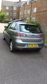 Seat Ibiza 5dr manual, long mot, very good drive, a/c, low mileage