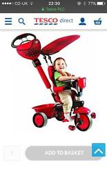 Ladybug smart trike bike