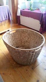 Lovely Wicker Log Basket