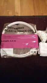 free Plastic Track Coil for collection with instructions and other all screws etc