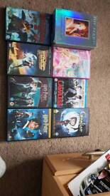 Dvds and blu rays £3 eatch
