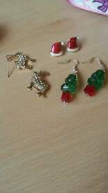 Festive earrings