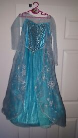 Disney Frozen Elsa dress size 7-8 hardly worn bought from the disney store.