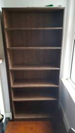 Brown Ikea Billy bookcase