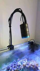 Kessil A160WE LED aquarium lighting with gooseneck