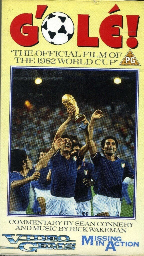 G'olé! - Original VHS tape recording of the 1982 World Cup held in Spain, narrated by Sean Connery.