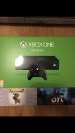 Xbox One sealed with two games