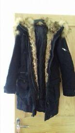 topshop size 6 coat