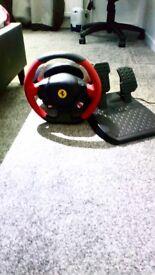 Xbox One Ferrari 458 Steering Wheel