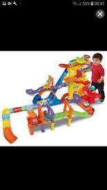 Vtech track set and car