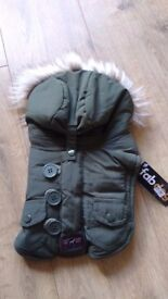Dog coat Green Small