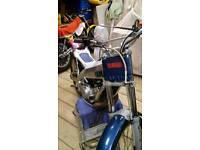 Yamaha tyz 250 trials bike