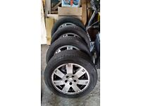 Set of 4 Ford Mondeo Mark 3 Wheels & Tyres
