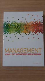 Management by Daft, Kendrick, Vershinina NEW