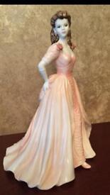 "COALPORT - Figurine Of The Year In 1985 - ""Jacqueline"""