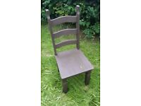 FREE!!!!! Wood chairs set of 2