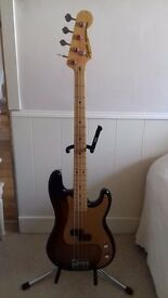 Squire by Fender JV series precision bass 1983 model