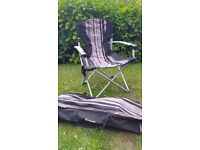 4 x Outwell camping chairs