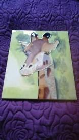 Giraffe Big Ceramic Tile
