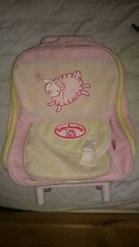Baby Annabell suitcase