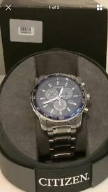 Men's Citizen eco drive perpetual calendar watch
