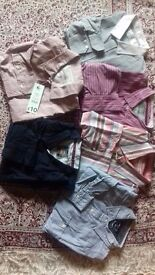 Men's casual shirts size 16.5, Large & X Large