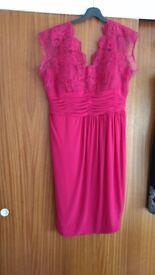 Alexon Cherise pink dress