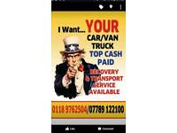 I WANT YOUR CAR VAN TRUCK