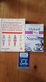 Nursing books, ideal for student nurses