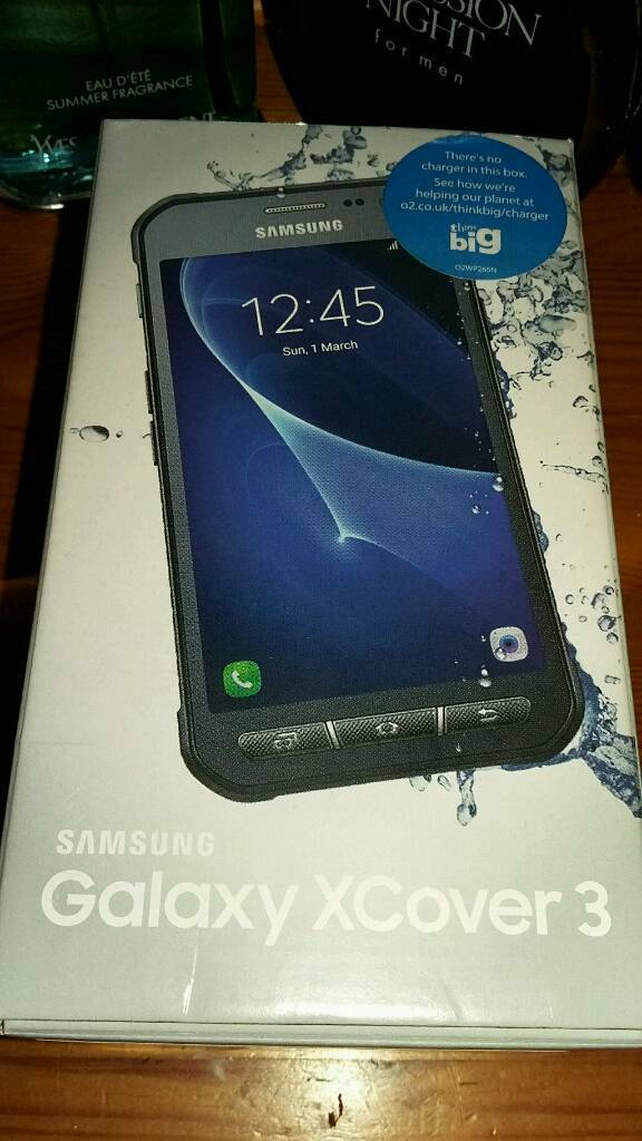 Samsung xcover 3in Barnsley, South YorkshireGumtree - Samsung x cover 3 robust ip67 certified and water resistant design slim stylish very pratical for workers water resisitant and dust resisitant brand new in box