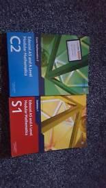 AS maths books.