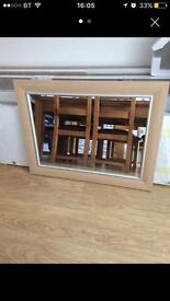 Set of 2 home mirrors
