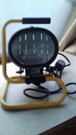 Defender Portable Work Light with Floor Stand