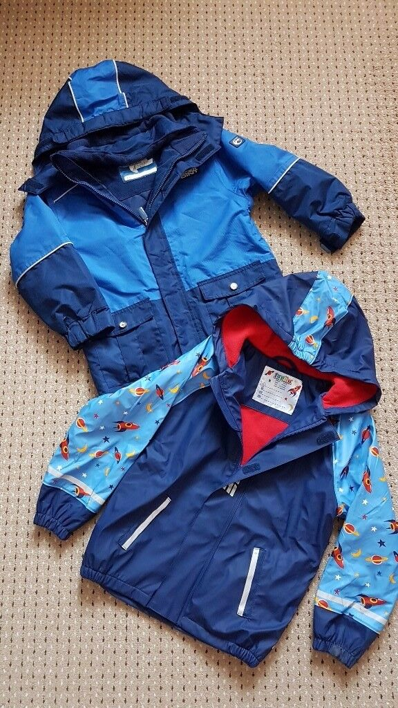boys 2 jackets, like new, size 6-7 years